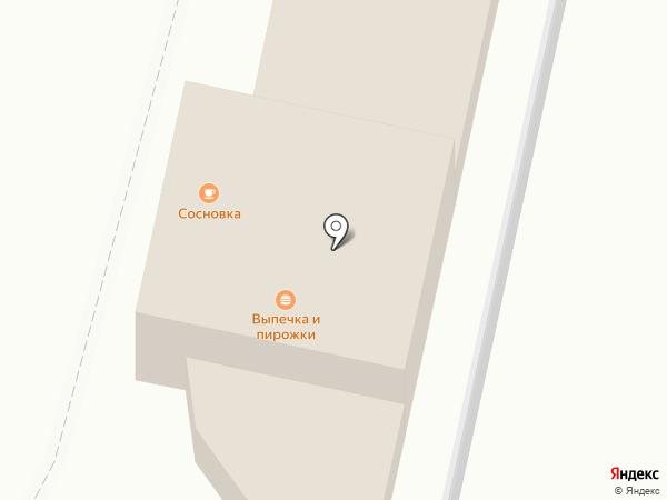 Сосновка 13 км на карте