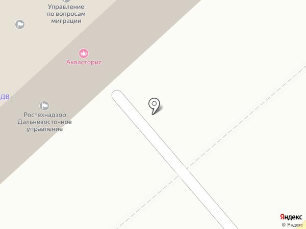 Хабаровский отдел надзора по радиационной безопасности на карте