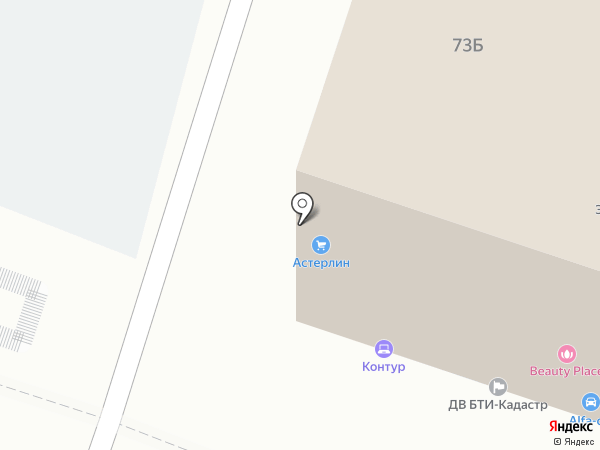 Красный мамонт на карте