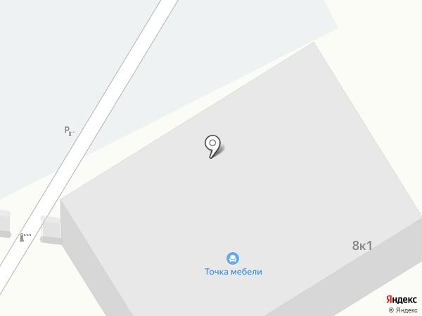 Метапром на карте