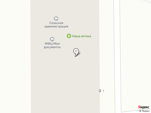 Польер на карте