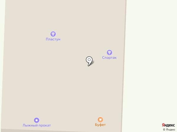 Учебно-спортивная база на карте