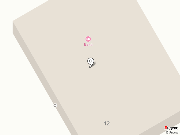 Тополевские бани на карте