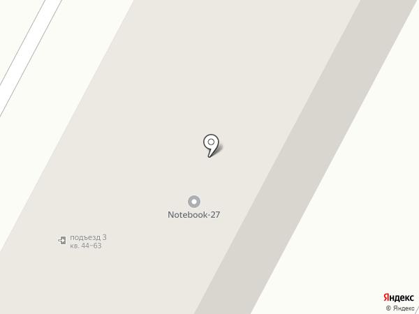 Твердохлебово на карте