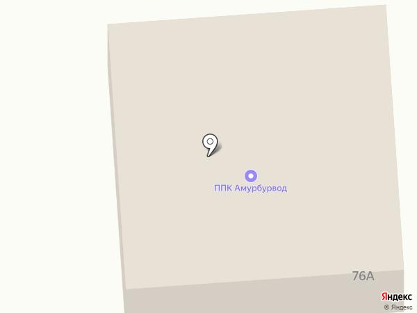Амурбурвод на карте
