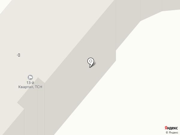 Жирафик на карте