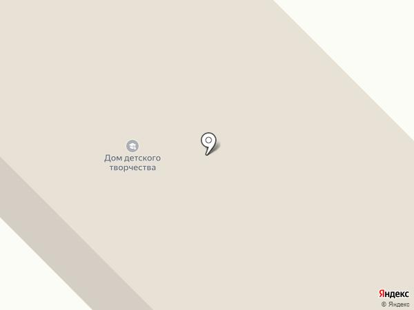 Дом детского творчества на карте
