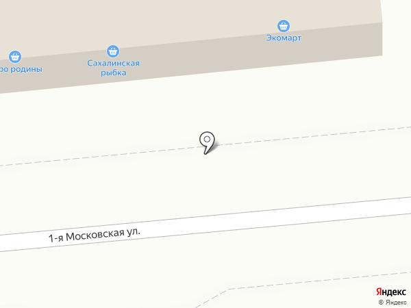 Совхоз Корсаковский на карте