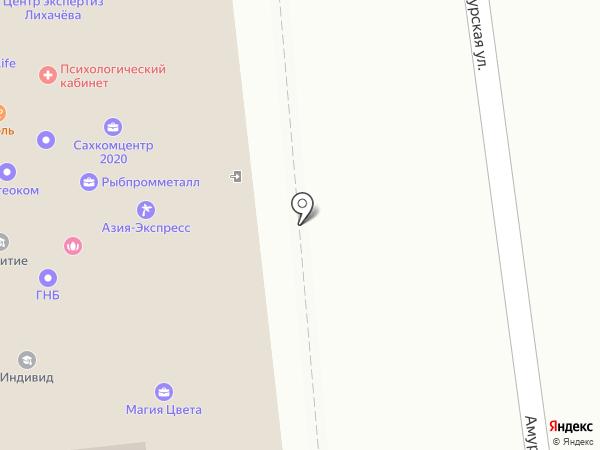 Сахалинхлеб, ЗАО на карте