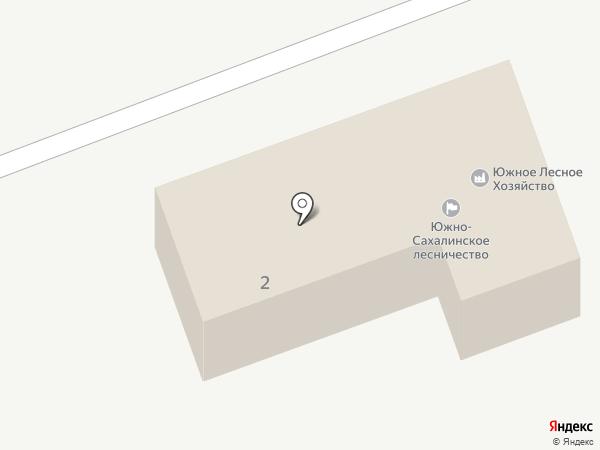 Южно-Сахалинская лесопожарная станция на карте