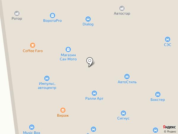 Автомастерская на ул. Пуркаева на карте