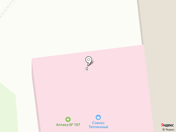 Центральная городская аптека №5, ГУП на карте