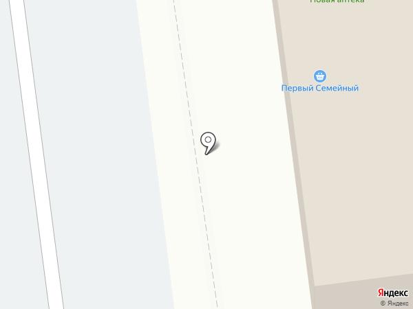 Заречное, ЗАО на карте
