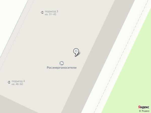 Манхэттен на карте