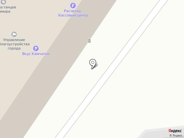 Расчетно-кассовый центр, МАУ на карте