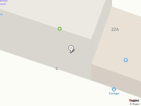 Бар на карте