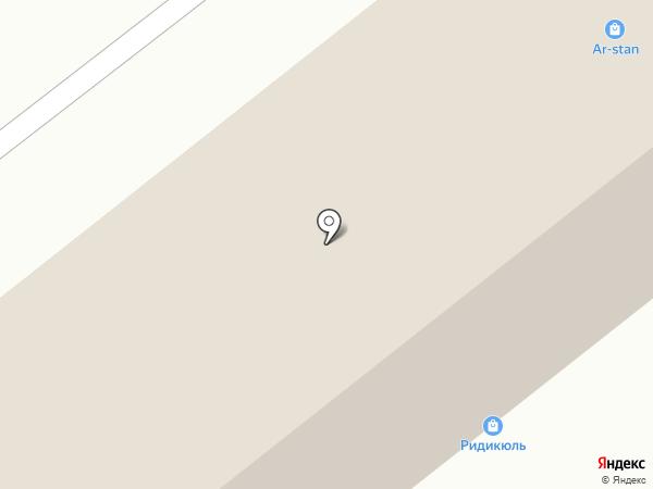 Ридикюль на карте