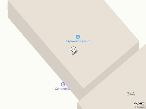 Continental на карте