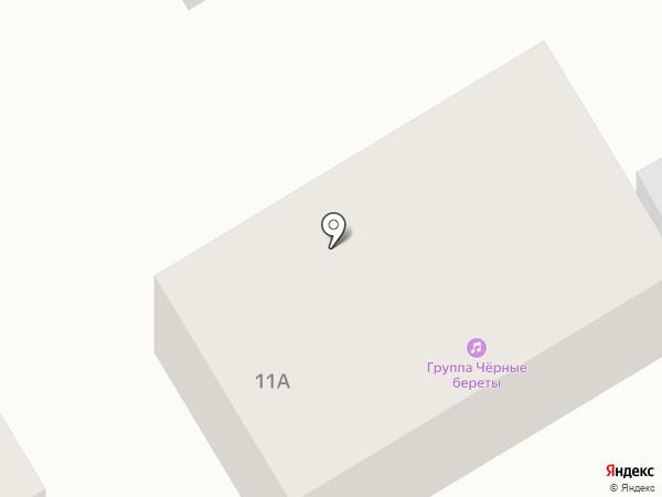 Черные береты на карте