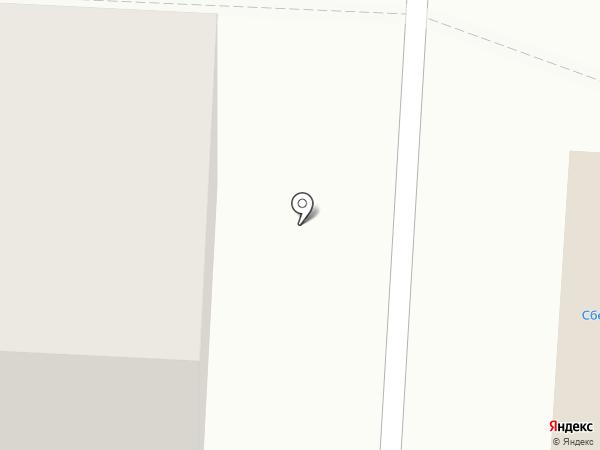 Береза на карте