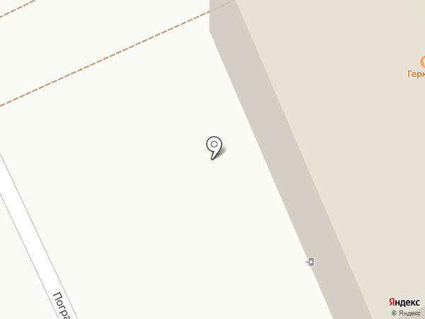 Геркулес на карте