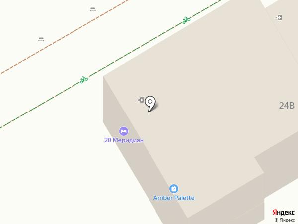 20-ый Меридиан на карте