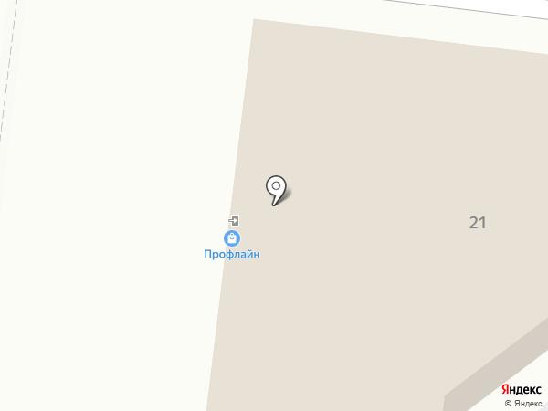 Профлайн на карте