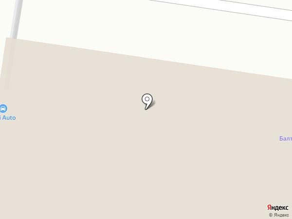 Автобаза на карте