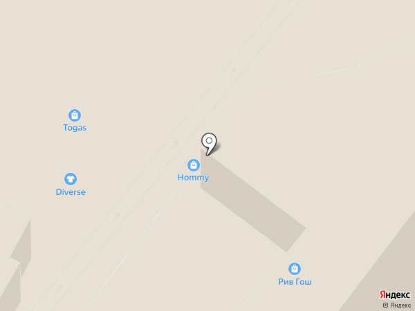 HOMMY на карте