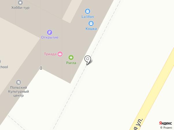 Новый Дом на карте