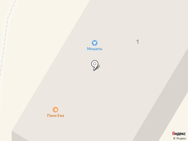 Пани Ева на карте