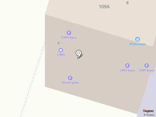 СМП банк на карте