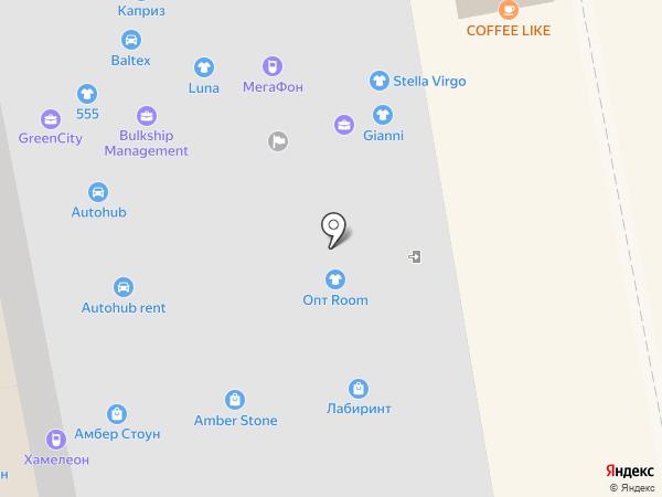 Амбер Стоун на карте