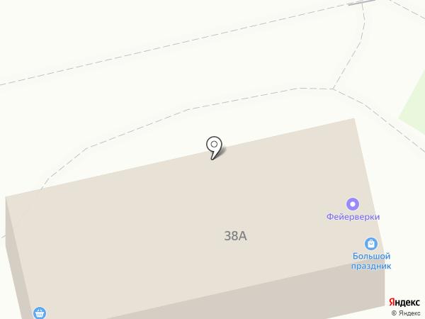 Бутыль на карте