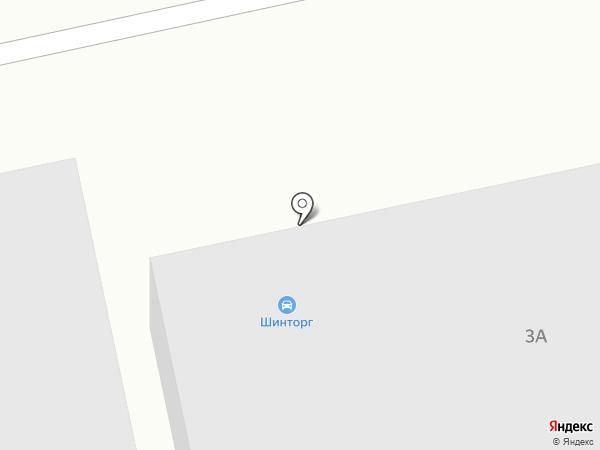 ШинТорг на карте