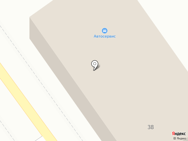 Маркер на карте