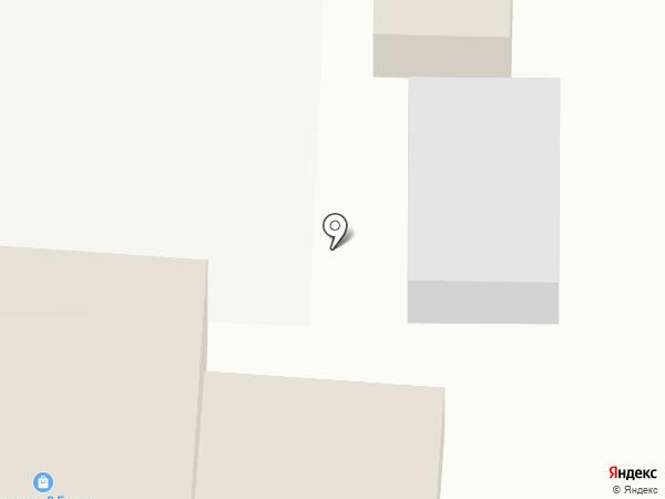 Белочка на карте