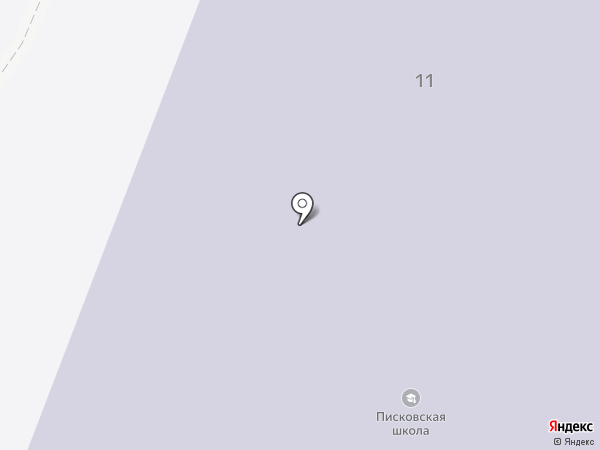 Писковская средняя общеобразовательная школа на карте