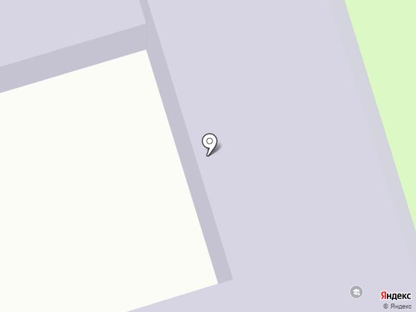 Родинская средняя школа на карте