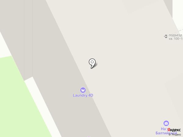 Псковская федерация тхэквондо на карте
