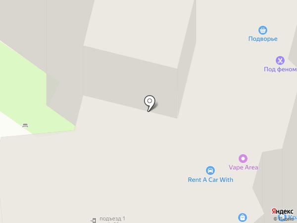 Пингвин на карте