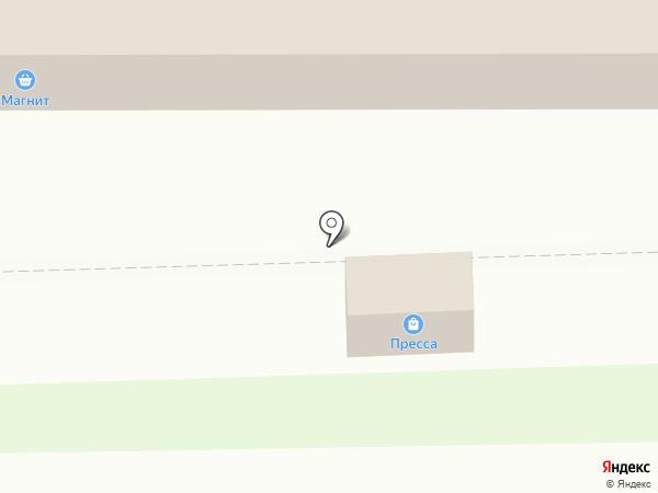 Псков-Печать на карте