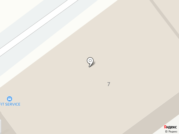 Еврокарс на карте