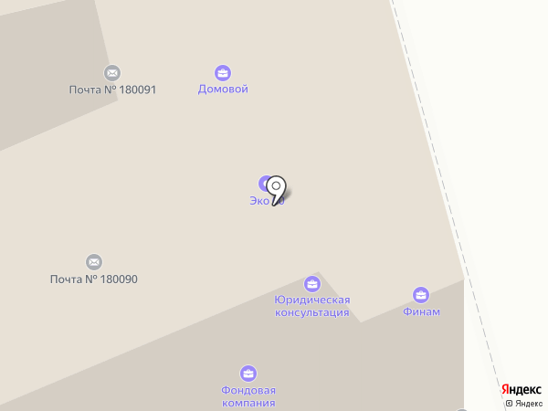 Телеросса на карте