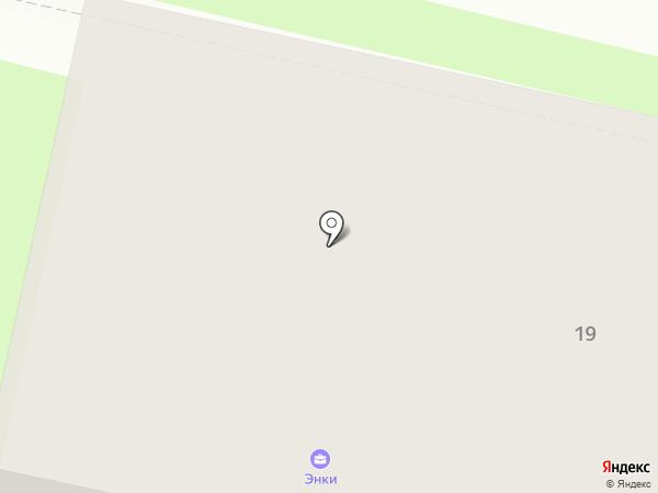 ЭНКИ на карте