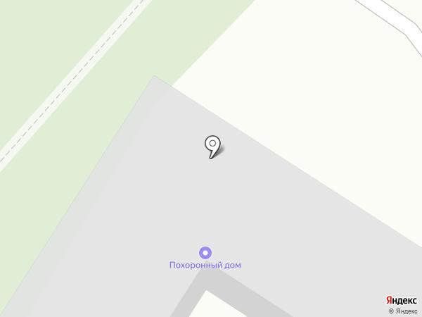 Похоронное бюро на карте