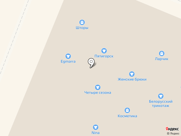 Норка на карте
