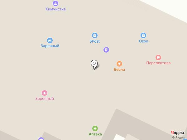 Магазин автозапчастей на Заречной (Всеволожский район) на карте