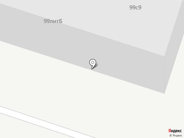 Шиномонтажная мастерская на Ленинградской на карте