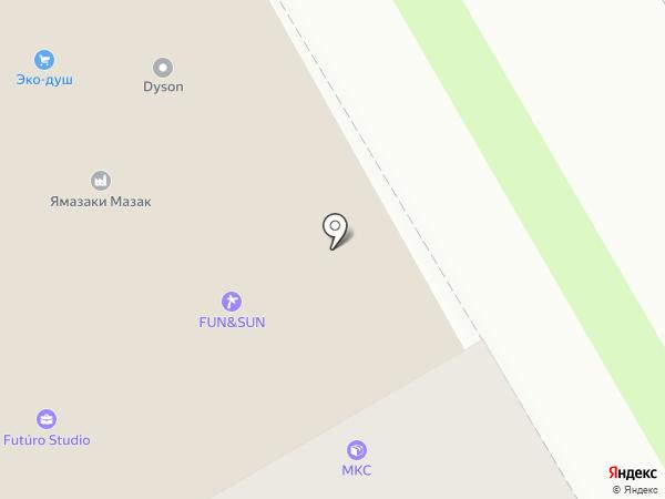 Прайм-Рут на карте